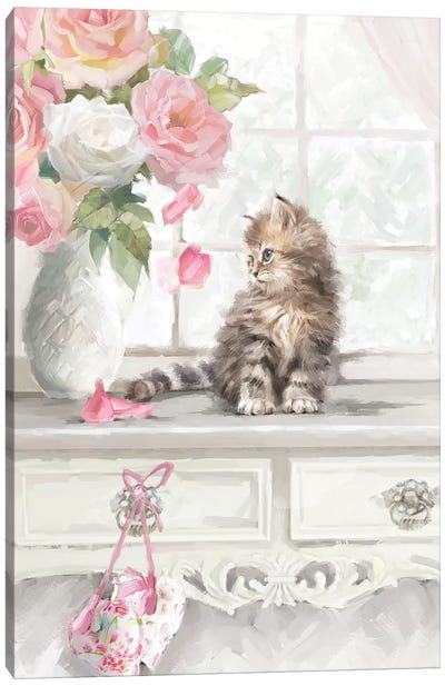 Kitten I Canvas Art Print