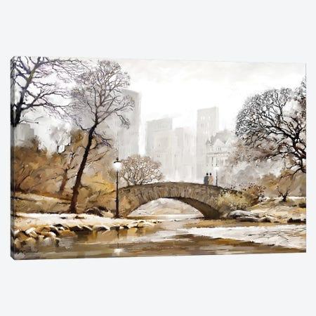 Gapstow Bridge Canvas Print #MNS125} by The Macneil Studio Canvas Art Print