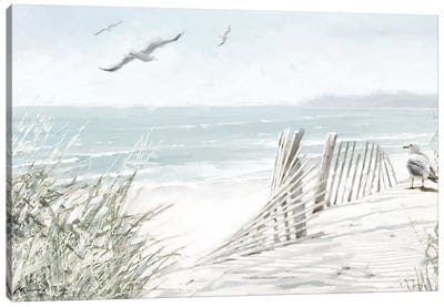 Coastal Dunes I Canvas Art Print