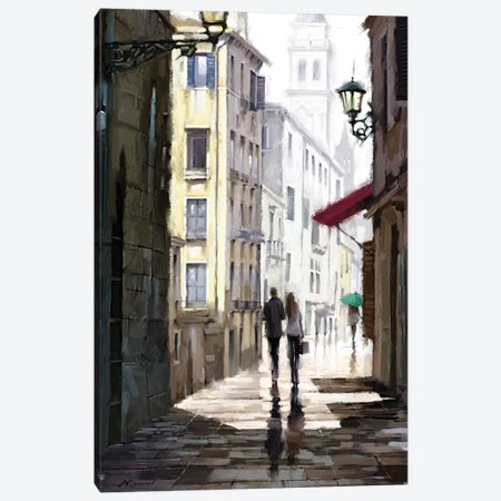 City Stroll II Canvas Print #MNS143} by The Macneil Studio Canvas Wall Art
