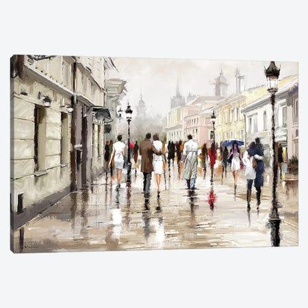 City Scape Canvas Print #MNS147} by The Macneil Studio Art Print