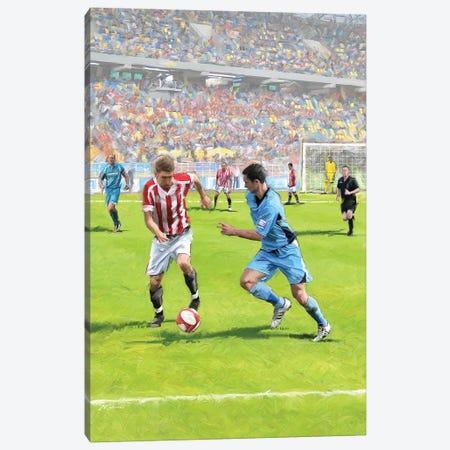 Football III Canvas Print #MNS149} by The Macneil Studio Canvas Art