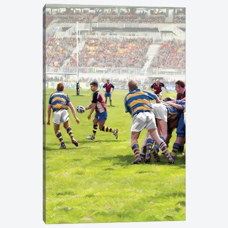 Rugby Canvas Print #MNS150} by The Macneil Studio Art Print
