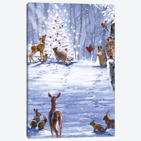 Animals Canvas Print #MNS165} by The Macneil Studio Art Print