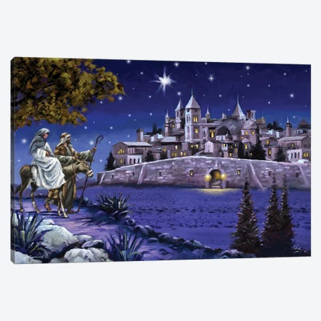 Bethlehem Canvas Print #MNS167} by The Macneil Studio Canvas Print