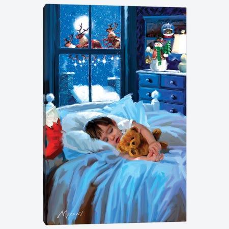 Boy Asleep Canvas Print #MNS173} by The Macneil Studio Canvas Print