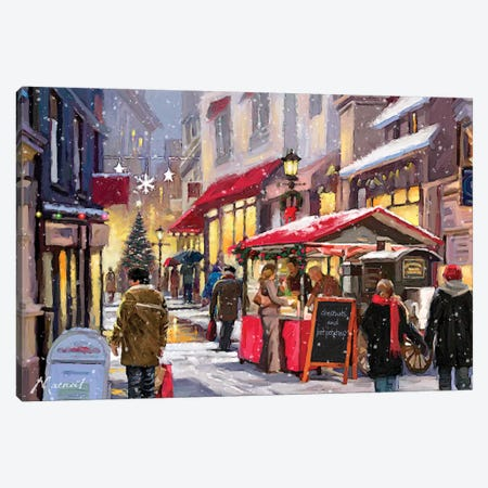Chestnut Seller Canvas Print #MNS195} by The Macneil Studio Canvas Artwork