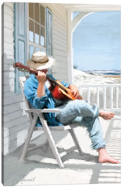 Guitar Canvas Art Print