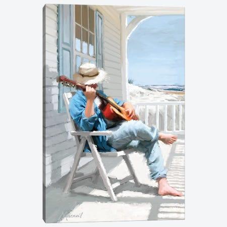 Guitar Canvas Print #MNS1} by The Macneil Studio Canvas Wall Art