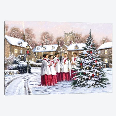 Choirboys II Canvas Print #MNS202} by The Macneil Studio Canvas Print