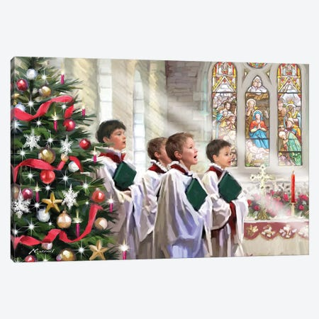 Choirboys IV Canvas Print #MNS204} by The Macneil Studio Canvas Art