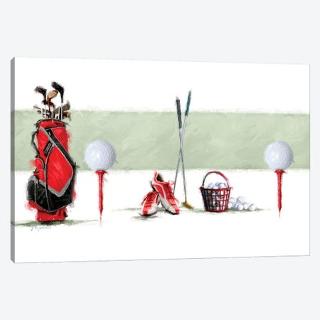 Golf Canvas Print #MNS20} by The Macneil Studio Canvas Art