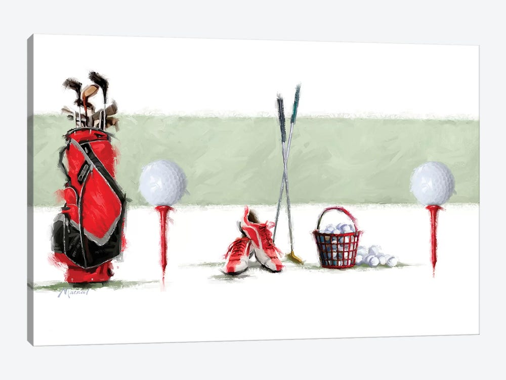 Golf by The Macneil Studio 1-piece Art Print