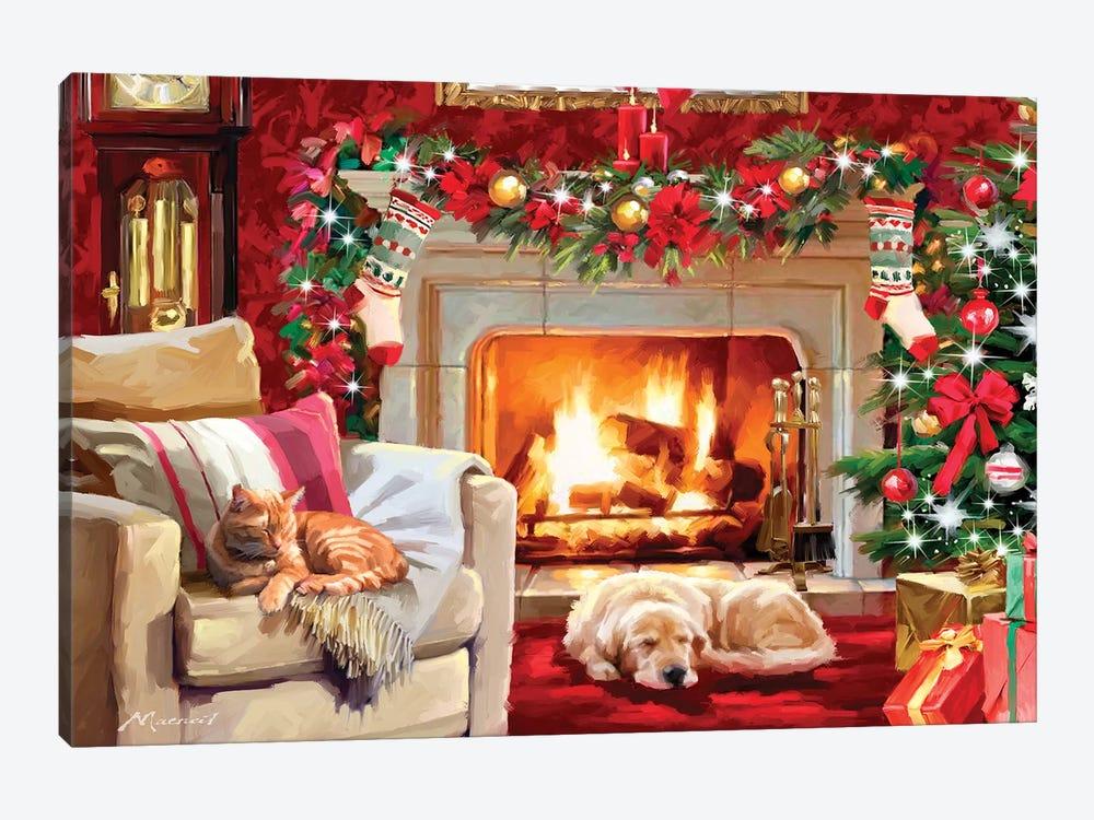 Christmas Room IV by The Macneil Studio 1-piece Canvas Art