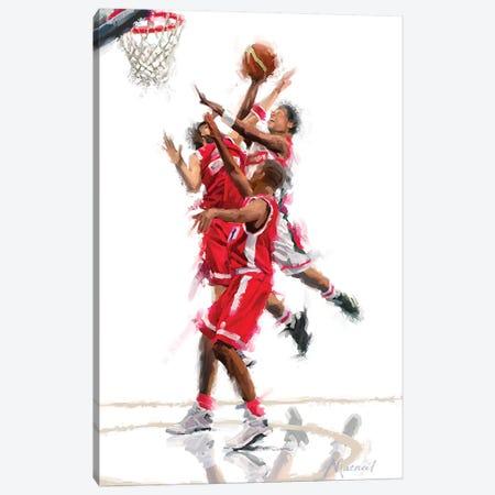 Basketball Canvas Print #MNS24} by The Macneil Studio Art Print