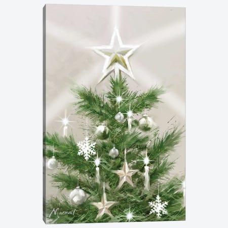 Christmas Star Canvas Print #MNS253} by The Macneil Studio Canvas Wall Art