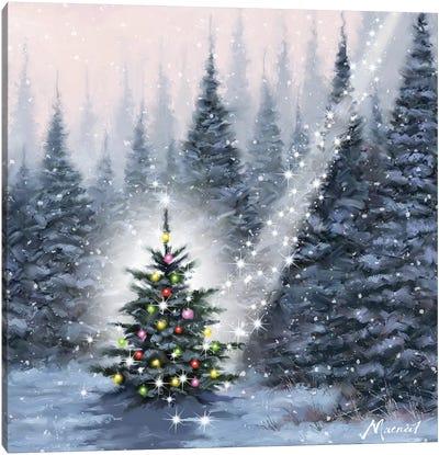 Christmas Tree Canvas Art Print