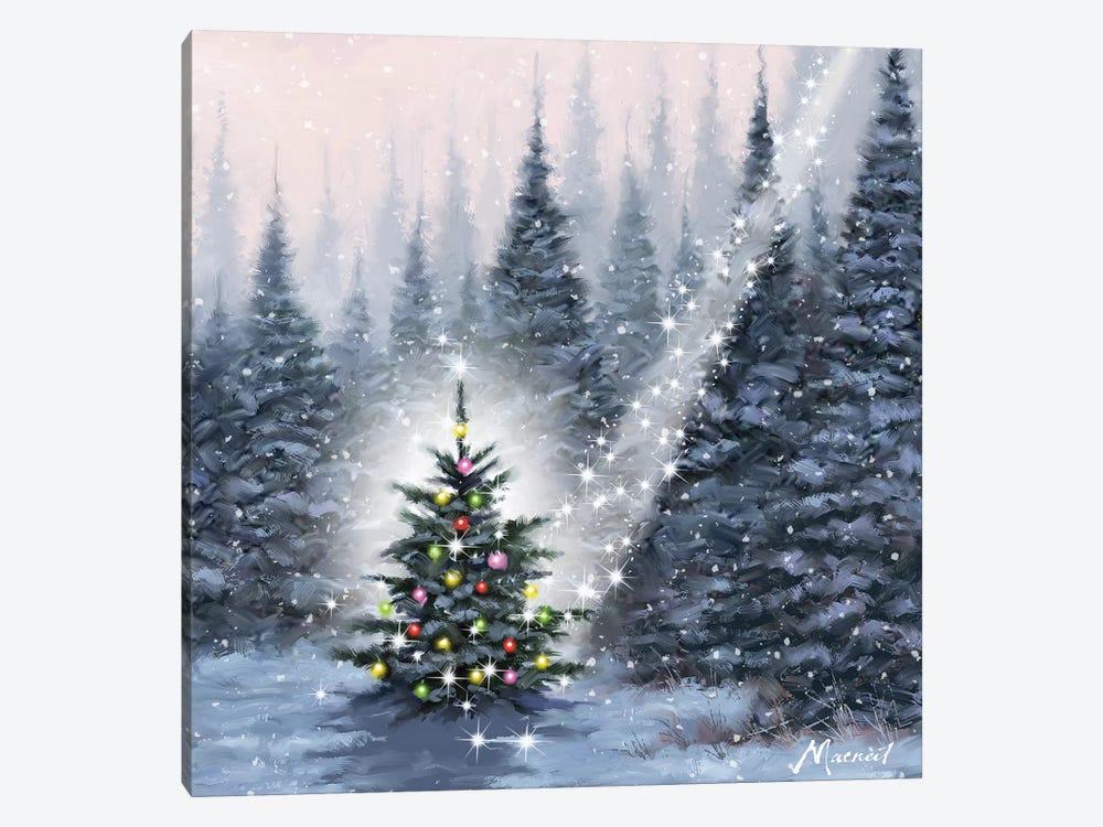 Christmas Tree by The Macneil Studio 1-piece Canvas Artwork