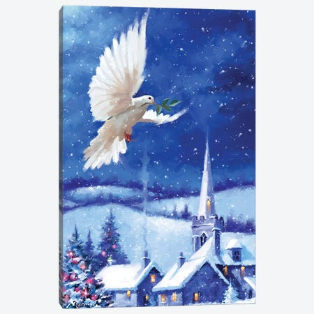 Dove Of Peace Canvas Print #MNS306} by The Macneil Studio Canvas Art Print