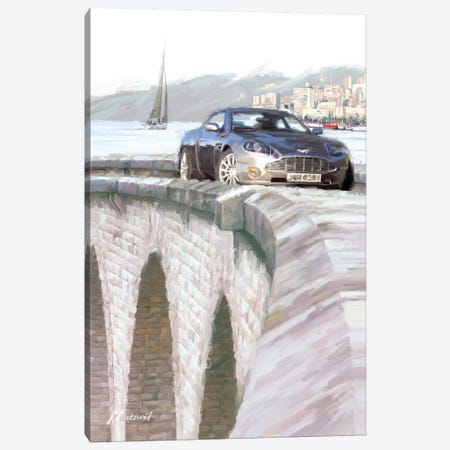 Harbour Bridge Canvas Print #MNS32} by The Macneil Studio Art Print
