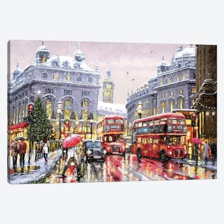 London Canvas Print #MNS381} by The Macneil Studio Canvas Wall Art