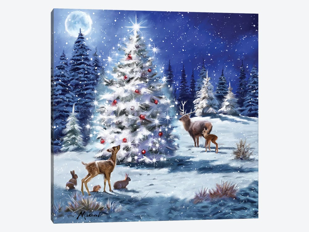 Magical Tree I by The Macneil Studio 1-piece Canvas Print