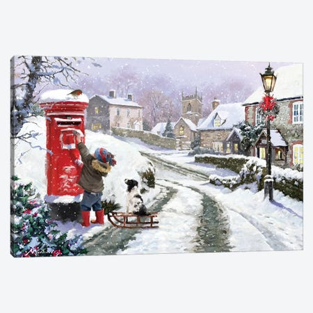 Posting Letter I Canvas Print #MNS427} by The Macneil Studio Canvas Art