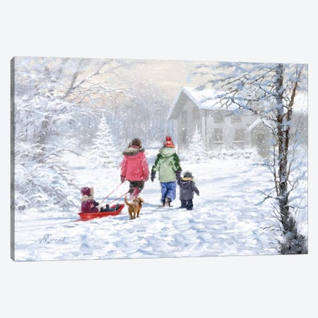 Returning Home Canvas Print #MNS455} by The Macneil Studio Canvas Print