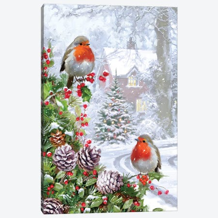Robin VII Canvas Print #MNS462} by The Macneil Studio Canvas Print