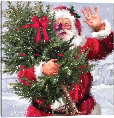 Santa I Canvas Art Print