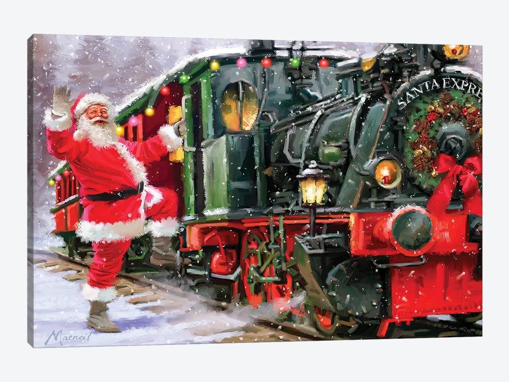 Santa Express II by The Macneil Studio 1-piece Canvas Wall Art