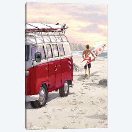 Camper Van Canvas Print #MNS55} by The Macneil Studio Canvas Wall Art