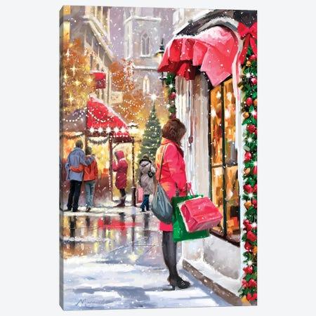 Shopper Canvas Print #MNS585} by The Macneil Studio Canvas Art Print