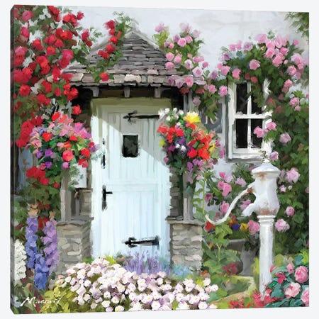 Cottage Door Canvas Print #MNS59} by The Macneil Studio Art Print