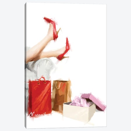 New Shoes Canvas Print #MNS5} by The Macneil Studio Canvas Art Print