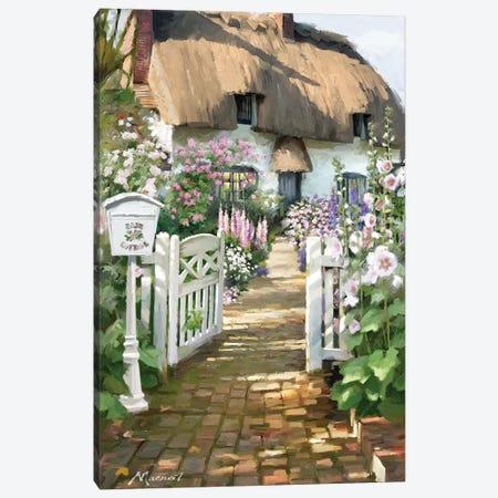 Cottage Postbox Canvas Print #MNS64} by The Macneil Studio Canvas Art Print