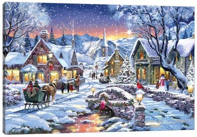 Tinsel Town Canvas Art Print