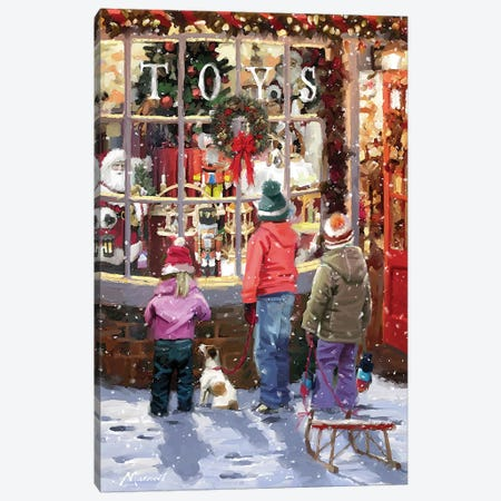 Toy Shop Canvas Print #MNS669} by The Macneil Studio Canvas Print