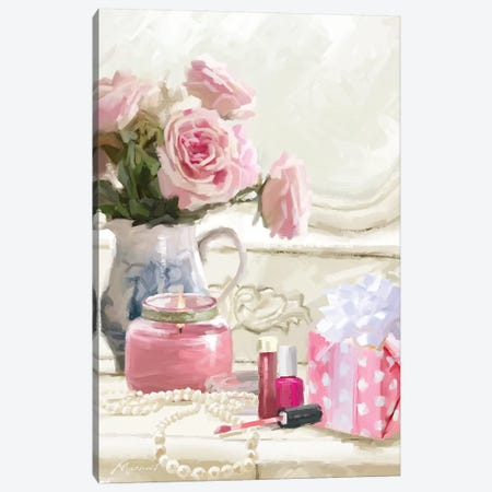 Close Up Dress Table Canvas Print #MNS66} by The Macneil Studio Canvas Art Print