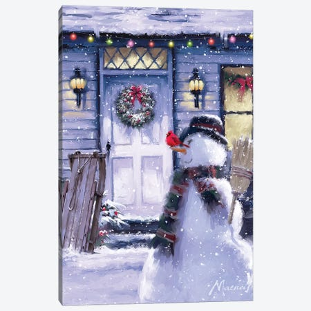 Usa White Door Canvas Print #MNS678} by The Macneil Studio Canvas Artwork