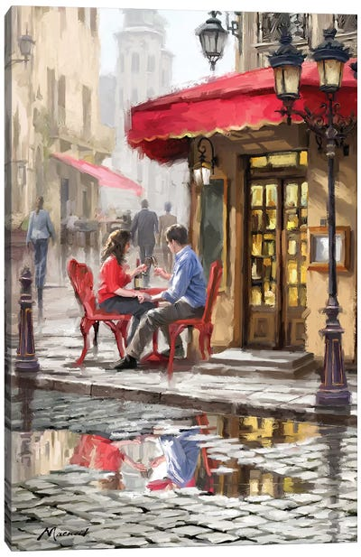 Bistro Canvas Art Print