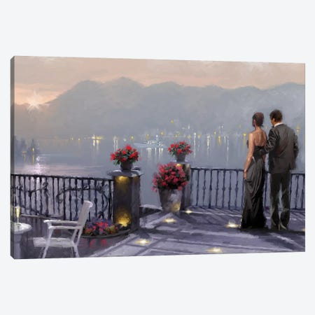 Lake Cafe Canvas Print #MNS69} by The Macneil Studio Canvas Art