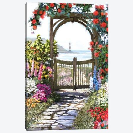 Coastal Gate Canvas Print #MNS79} by The Macneil Studio Art Print