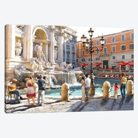 Trevolli Fountain Canvas Print #MNS88} by The Macneil Studio Canvas Wall Art