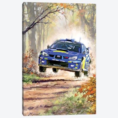 Rally Car Canvas Print #MNS97} by The Macneil Studio Canvas Wall Art