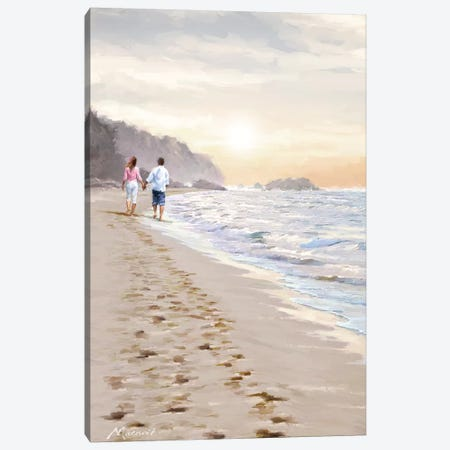 Golden Tide Canvas Print #MNS98} by The Macneil Studio Canvas Print