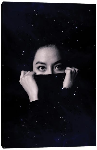 Covered With Stars Canvas Art Print