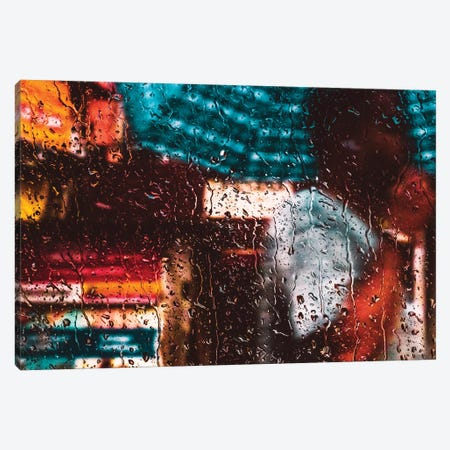 Rain Canvas Print #MNU112} by Manuel Luces Canvas Print