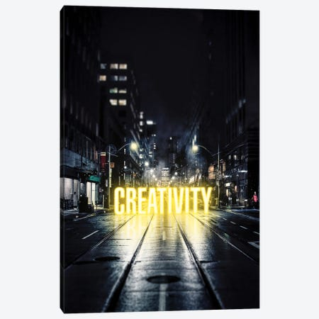 Creativity Canvas Print #MNU12} by Manuel Luces Canvas Print