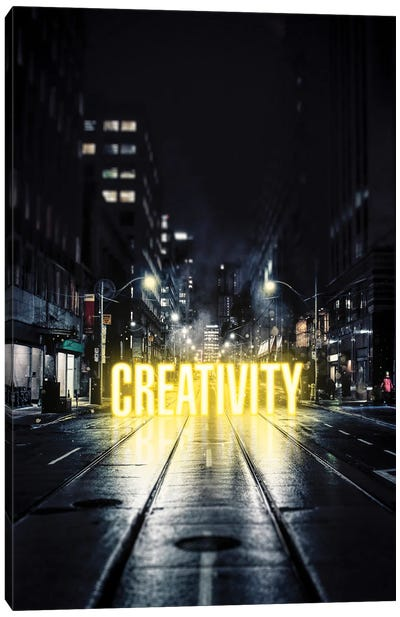 Creativity Canvas Art Print